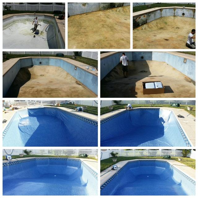 Inground Pool Replacement Liners Landi Pools Games